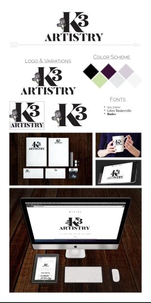 K3 Artistry Brand Board